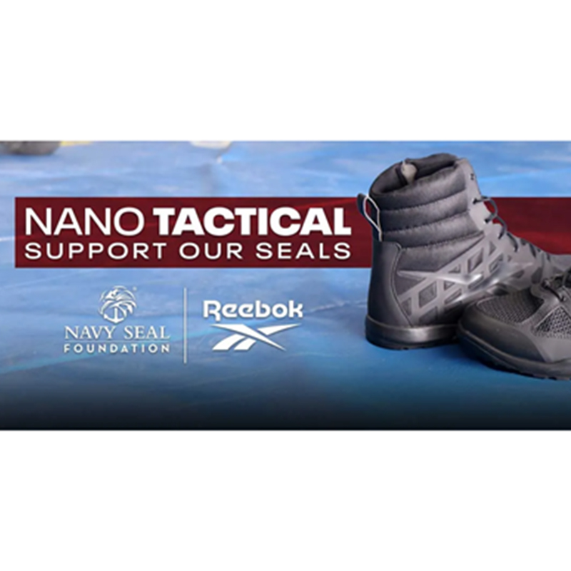 Reebok Supports the SEALs with Navy SEAL Foundation Co-Branded Nano Tactical Boot